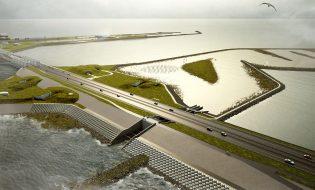 afsluitdijk-vismigratierivier